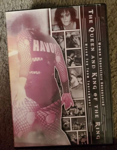WSU Women s Wrestling Queen King Of The Ring May 2013 DVD Jessicka Havok  - $7.95