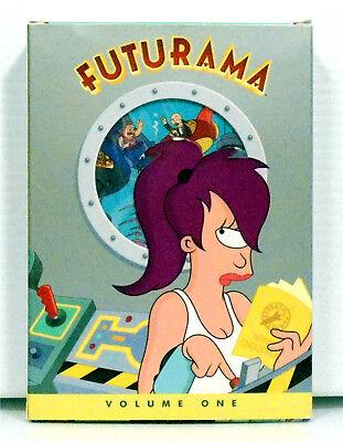 Futurama Volume 1 DVD 2009 3-Disc Set Katey Segal Billy West