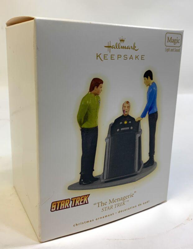 2009 Hallmark Keepsake THE MENAGERIE Star Trek Ornament Light & Sound