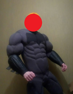 Halloween-spiderman (Muscle suit / Costume Halloween, Spiderman, Superman, Venom, Hulk, X Man, Thor)