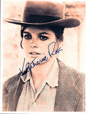 Katharine Ross Signed Autographed 8X10 Photo Butch Cassidy The Graduate Coa Vd