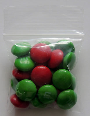 25 Small 2x2 Zip Lock Bags 2mil