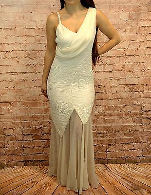Vestido de Novia Standesamtkleid Noche Talla 42 Crema