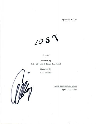 Evangeline Lilly Signed Autographed LOST Pilot Episode Script COA