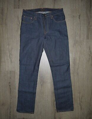 2009 Vintage Nudie Jeans Co. Organic Jeans Made in Italy W34 L34