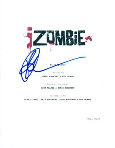 Rose McIver Signed Autographed iZOMBIE Pilot Episode Script COA