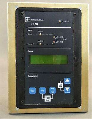 Cutler-hammer Atc-400 Auto Transfer Switch Controller 480vac 6d32313g01