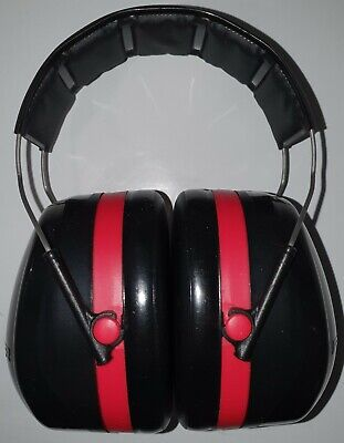 3m H10a Peltor Optime 105 Redblack Red Over-the-head Earmuffs Qty 2