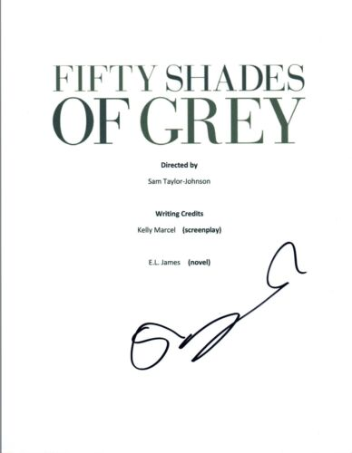 Sam Taylor Johnson Signed Autographed FIFTY SHADES OF GREY Movie Script COA VD