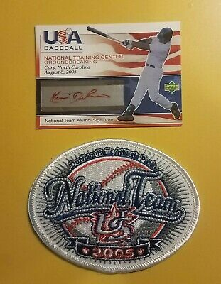 KEONI DeRENNE 2005 USA Baseball National Training Center Groundbreaking Auto -