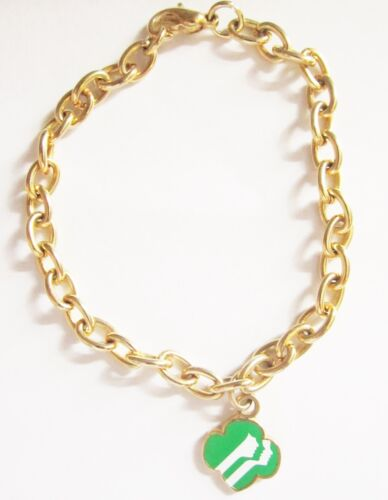 "Vintage Girl Scout ""Profiles"" Bracelet circa 1983"