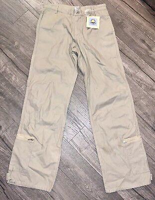 Petit Bateau Tan Khaki Pants ~ Size 12 ~ New With Tags $96