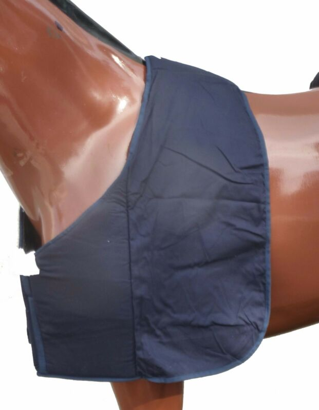 Horse Thick Padded DELUXE Rug Bib ~Foam~Satin Lined ~Mini & Pony