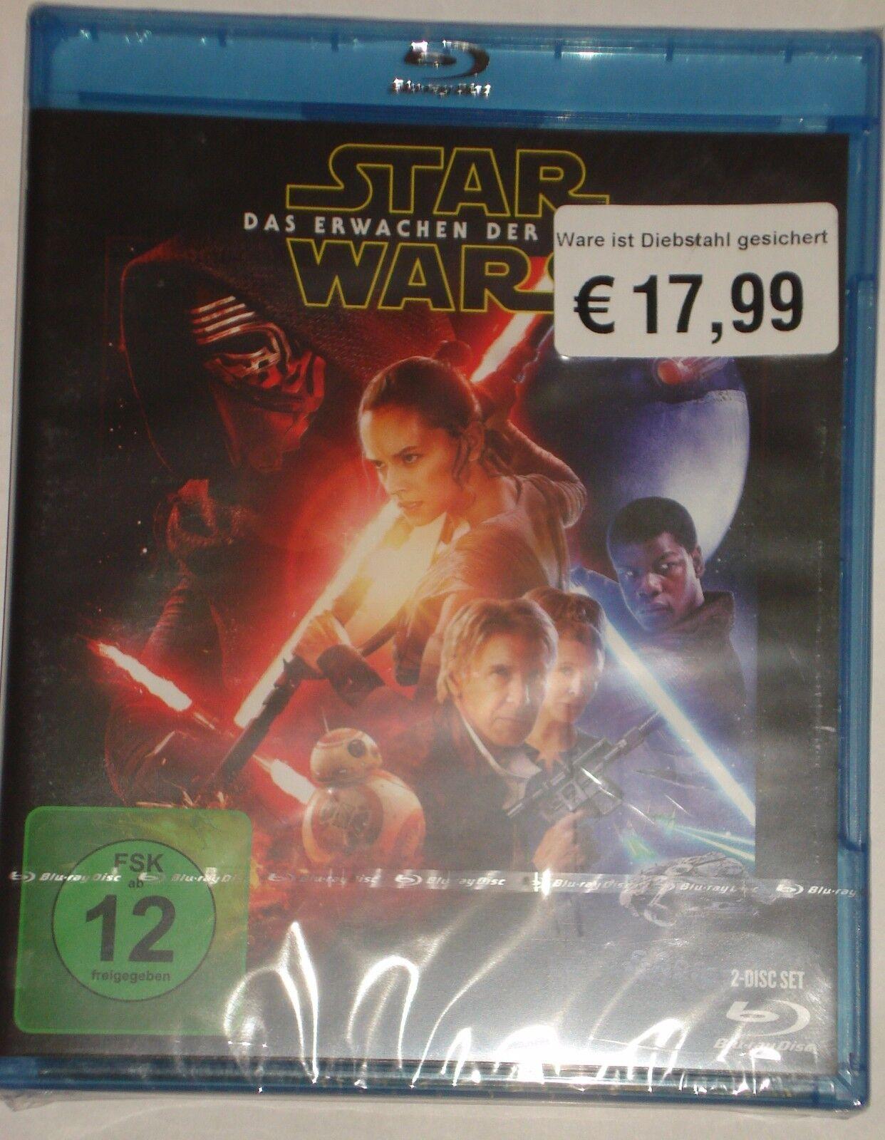 Star Wars: Das Erwachen der Macht NEU OVP Teil 7  2 Disc-Set