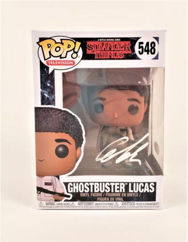 "Caleb McLaughlin Autographed Signed Funko POP -Stranger Things ""Lucas"" (JSA COA)"