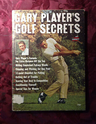 GARY PLAYER's GOLF SECRETS 1965 Instructional Book
