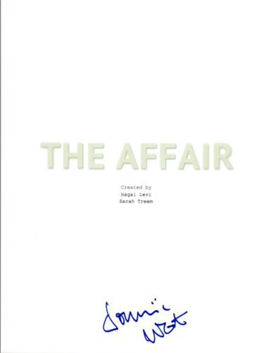Dominic West Signed Autographed THE AFFAIR Pilot Episode Script COA VD