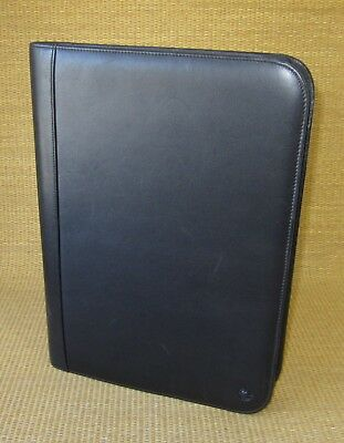 Monarch Size Black Leather Franklin Covey Notepadsmartphone Holder Folio