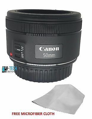 Canon EF 50 mm F 1.8 STM - Prime Lens for Canon EOS SLR - Auto Focus -  Black