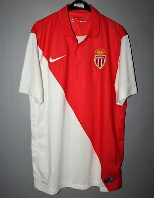 AS MONACO FRANCE HOME 2014/2015 MAILLOT FOOTBALL SHIRT JERSEY NIKE/SIZE M image