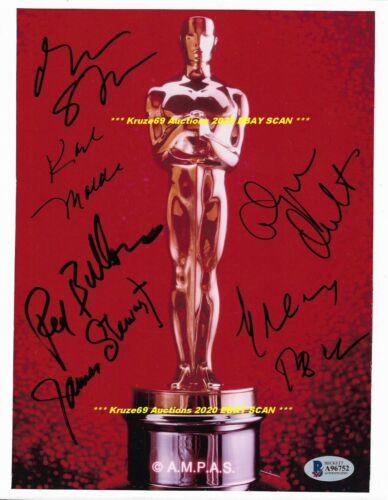 ACADEMY AWARDS WINNERS OSCAR 8x10 Photo Auto SIGNED by 6~PECK~STEWART + BECKETT