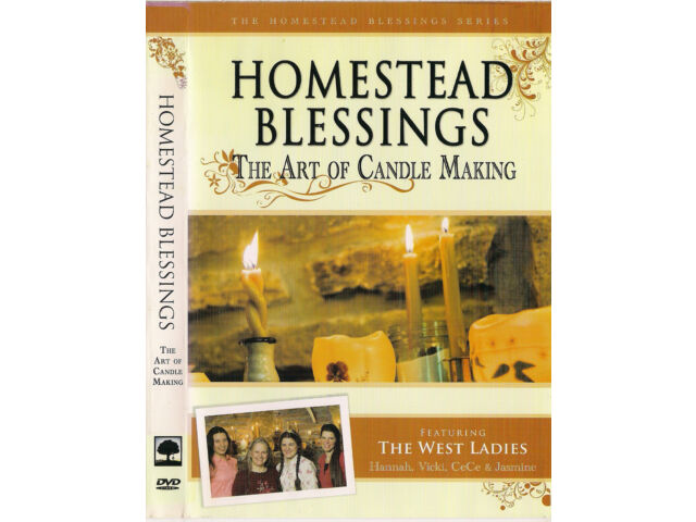 Homestead Blessings:The Art of Candle Making (DVD,