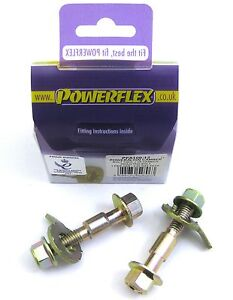 POWERFLEX CAMBER ADJUSTMENT BOLT KIT M12 ASTRA CORSA VECTRA ZAFIRA SRI GSI VXR