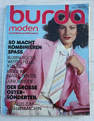 80er Mode Kinder (Burda moden-Heft Handarbeitsheft 1978 70s 70er 80s 80er vintage-Mode Kinder uvm)