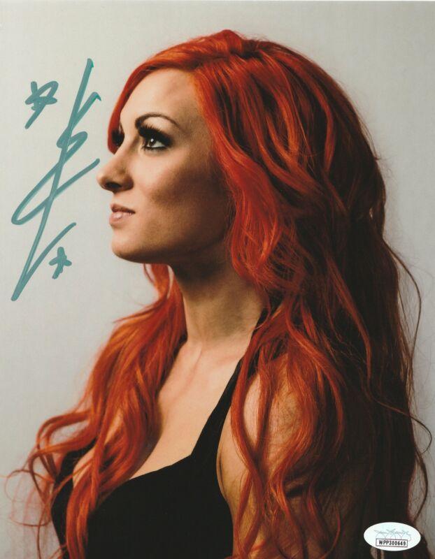 Becky Lynch Autograph WWE Womans Champion 8X10 Photo Signed JSA COA 9