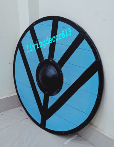Medieval Armor Viking Black Shield medieval Armor Shield