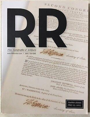 RR AUCTION CATALOG ENTERTAINMENT HISTORICAL NASA SPACE POP CULTURE & MUCH MOR
