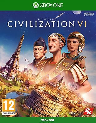 Civilization VI (Xbox One) Free UK P&P New & Sealed UK PAL