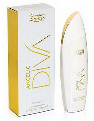 Diva Angelic Damen Duft Birke Maiglöckchen Parfüm Eau Parfum Creation Lamis NEU - Diva Eau De Parfum Spray