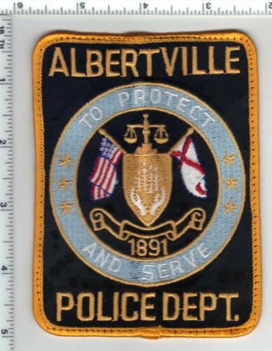 Albertville Police (Alabama) 1st Issue Uniform Take-Off Shoulder Patch