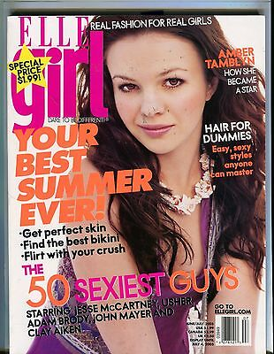 Elle Girl Magazine June/July 2005 Amber Tamblyn EX 090216jhe