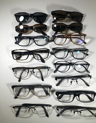 Lot Of 15 Persol Eyeglasses/ Sunglasses EB