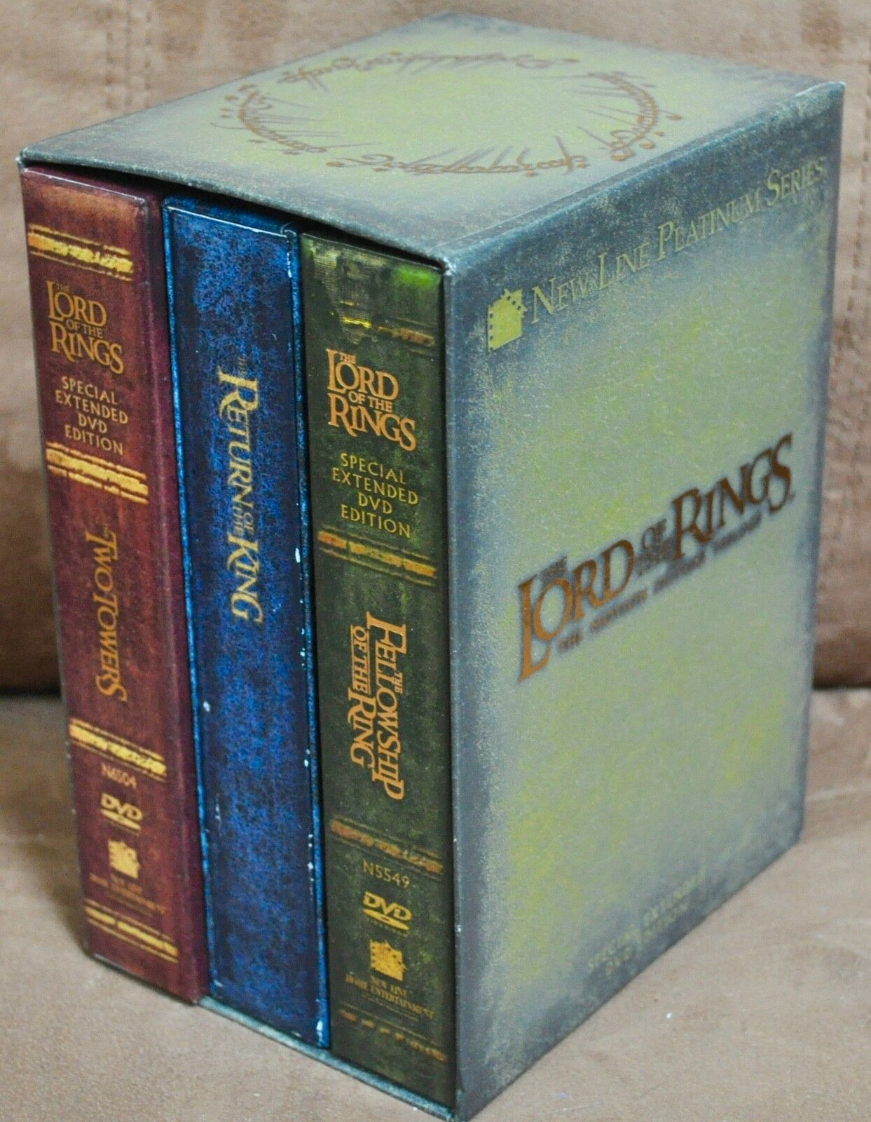 The Lord of the Rings: The Motion Picture Trilogy Special Extended Edition