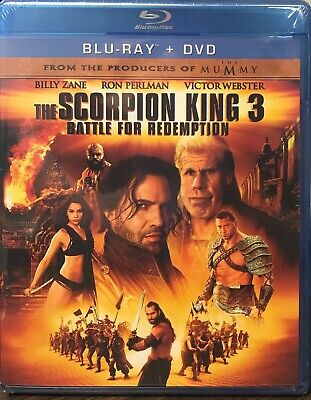 The Scorpion King 3: Battle for Redemption (Blu-ray/DVD, 2012) NEW