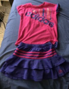 Adidas little girl outfit
