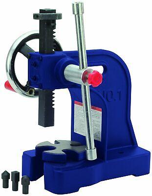 Arbor Press Machine 1 Ton Capacity Rivet Squeeze Punching Bending Application