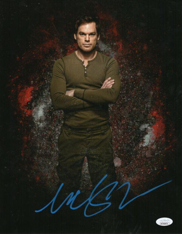 Michael C. Hall Autograph 11x14 Photo Dexter Signed JSA COA D15