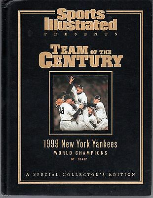 Sports Illustrated New York Yankees 1999 World Series Champions Hard Cover Exc.