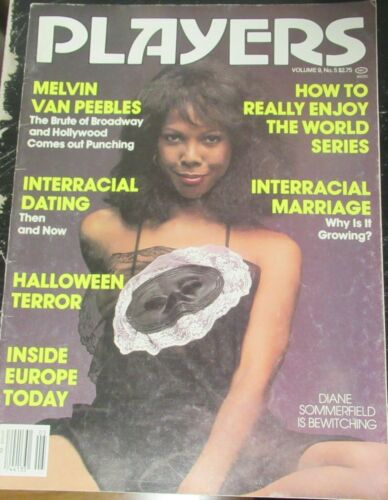 PLAYERS VOLUME 9 # 5 VINTAGE AFRICAN AMERICAN COLLECTABLE MAGAZINE