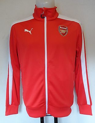 ARSENAL RED T7 ANTHEM JACKET BY PUMA SIZE MEN'S MEDIUM BRAND NEW WITH TAGS