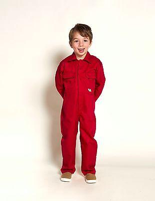 Toddler Kids Coveralls (Boiler Suit) - Childs Boiler Suit