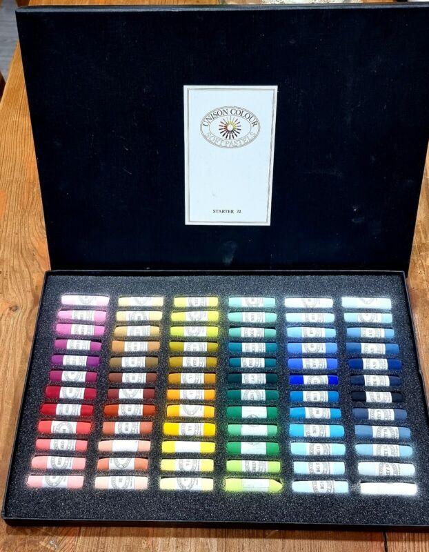 Unison Artists Pastel Box Set - 72 Starter Colours | Unison Soft Pastels |
