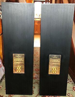 KEF 104.2 RAYMOND COOKE BLACK ASH SPEAKERS - BI-WIRE