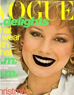 1976 Vogue Magazine Rosie Vela Janice Dickinson Lisa Taylor Anorexia Bressai 70s