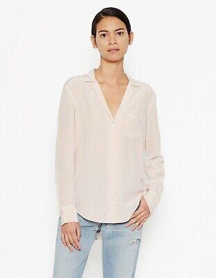 NWT Equipment Keira Silk Shirt Blouse Nostalgia Rose(Beige Pink) Size XS, L $218