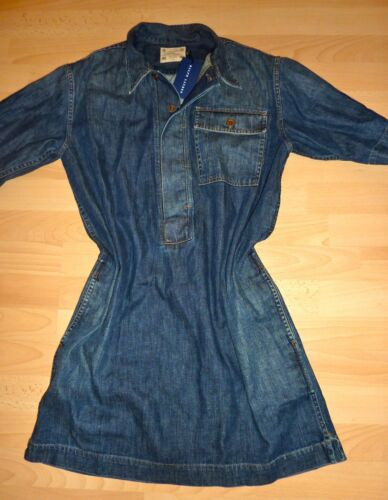 ralph lauren jeanskleid kleid vintage gerade gr m neu ebay. Black Bedroom Furniture Sets. Home Design Ideas
